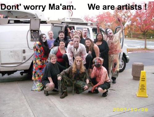artists zombis