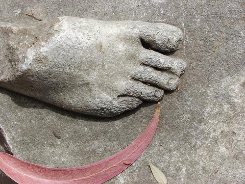 foot scythe