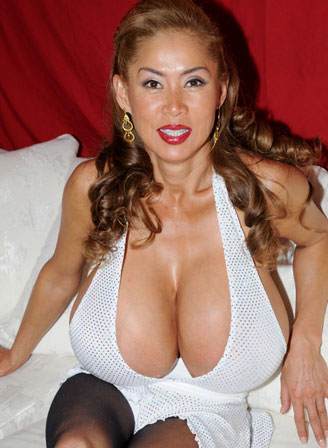 Minka large breasted asian milf