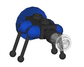 lego mini robot