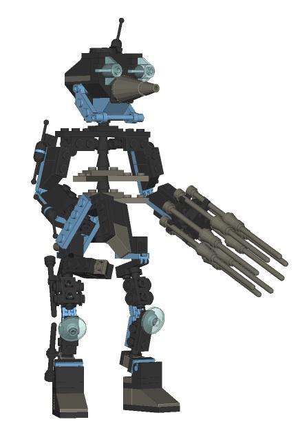 Lego robot hubert gronez 3