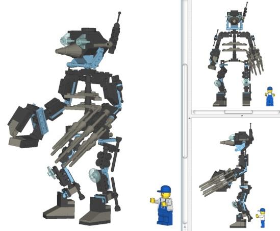 Lego robot hubert gronez 4