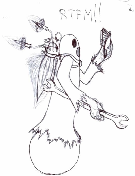 rtfm ghost dessin