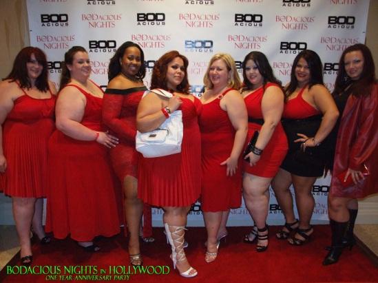 red bbw bodacious