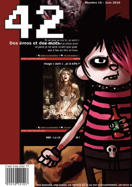 magazine 42 couverture numéro 016