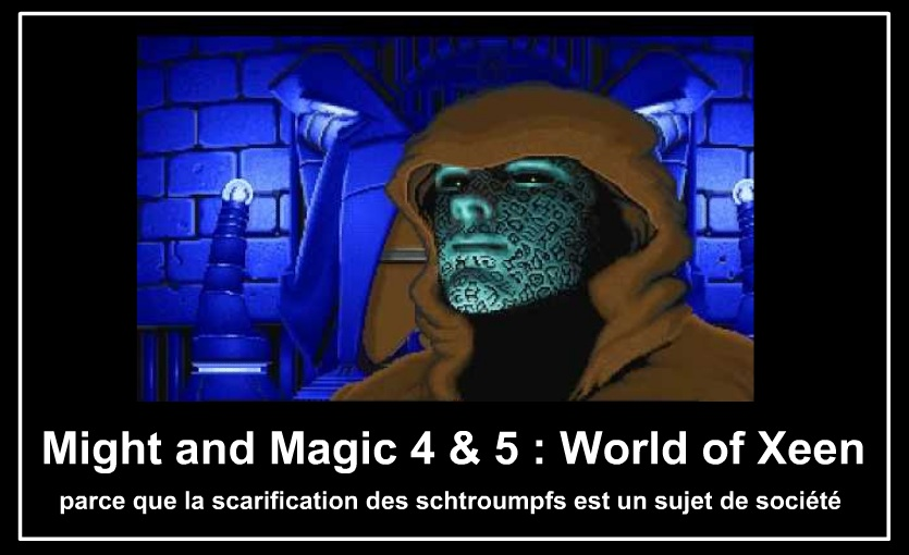 might and magic gardian tower schtroumpfs
