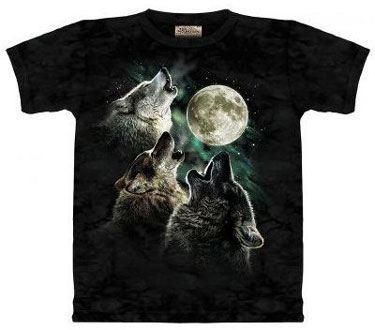 tee-shirt-loup 3 wolfs moon shirt