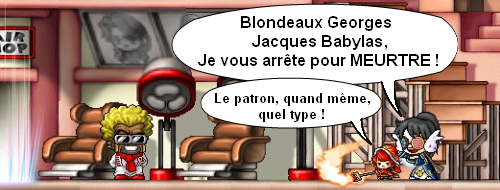 maple story blondeaux georges jacques babylas