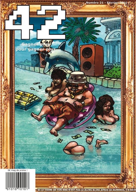 magazine 42 couverture du numéro 21