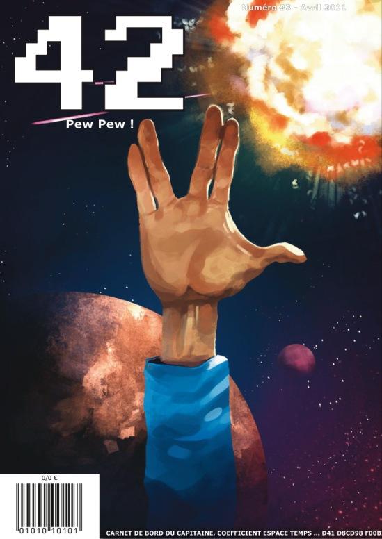 magazine 42 numéro 23 couverture