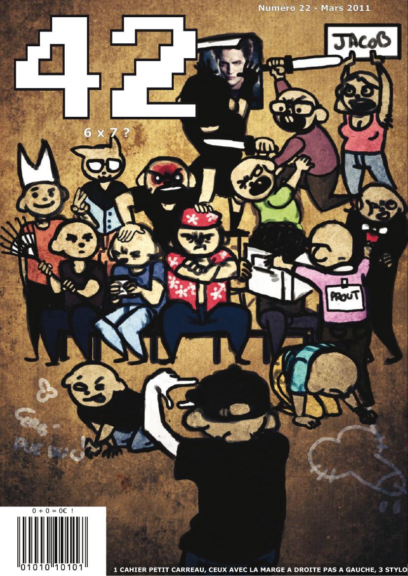 magazine 42 numéro 22 couverture