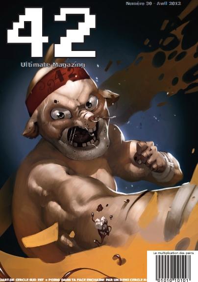 magazine 42 couverture du numéro 30
