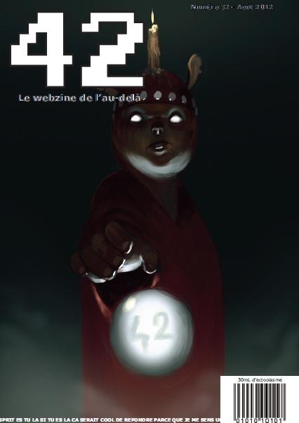 Couverture du numéro 32 du magazine 42