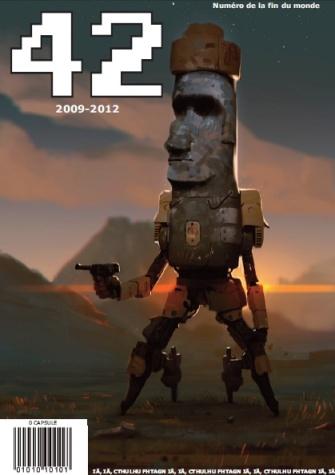dernier magazine 42 couverture