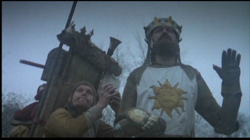 King Arthur of Camelot monty python and the holy grail 591189_500_281