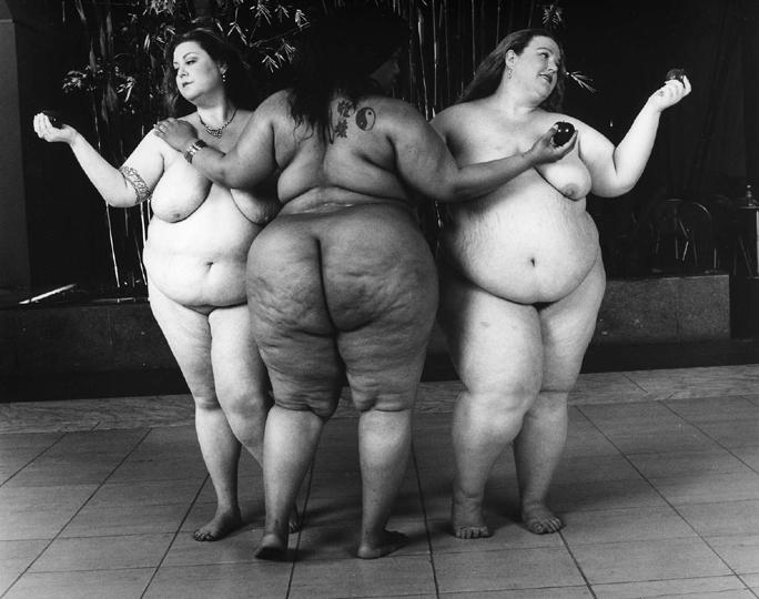 Three Graces The Full Body Project Leonard Nimoy