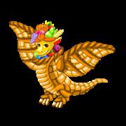 Le dragon-cornucopia.