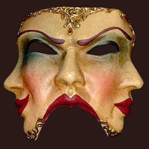 Triple Face Mask. beppyiram.blogspot.com Double Faced Mask