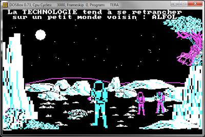 screenshot du jeu vidéo Tera, de Loriciel