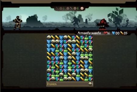 screenshot du jeu Odyssey. Dolskin contre une Armanite puante. Shoté par Jery.