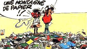 bande dessinée de Gaston Lagaffe documentation